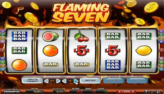 Flaming Seven de Partouche